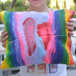A really fun summer art project for kids