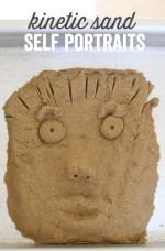 Kinetic Sand Self Portraits
