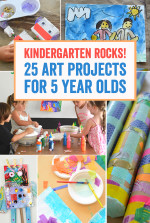 Kindergarten Rocks – 25 Art Projects for 5 Year Olds