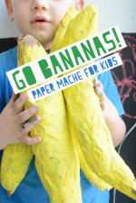 GO BANANAS! Super Fun Paper Mache Tutorial for Kids