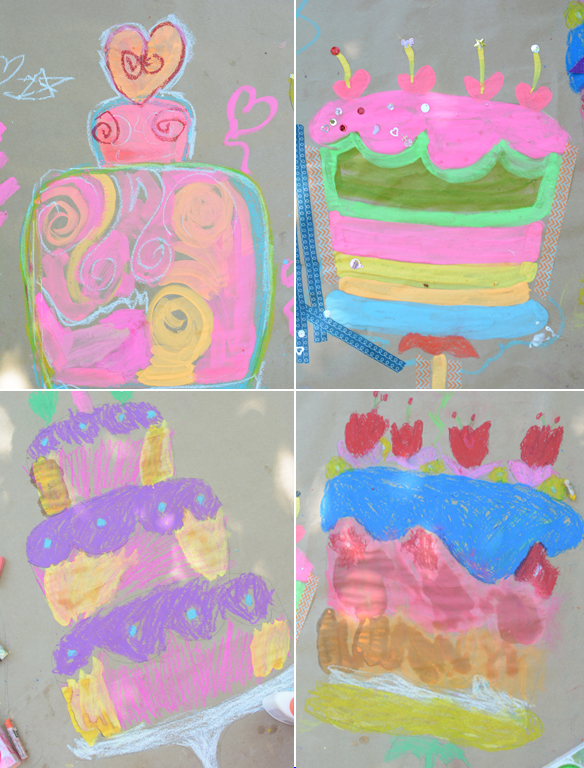 8 original birthday cake coloring pages that will totally rock your child's next birthday party!