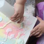 Sand Art Process Art