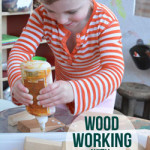 woodworking with preschoolers
