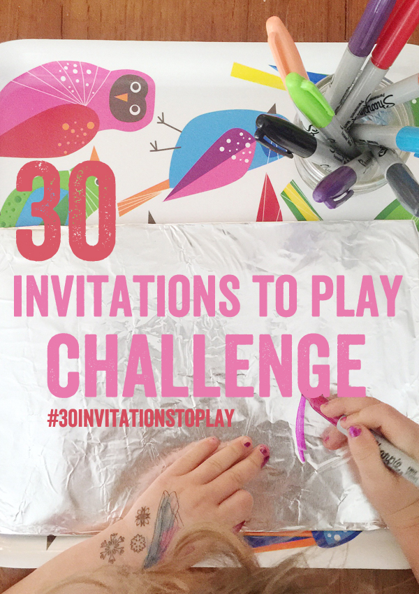 30 Invitations to Play Challenge – Join Me
