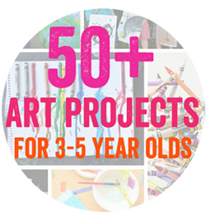 50 plus art projects for kids