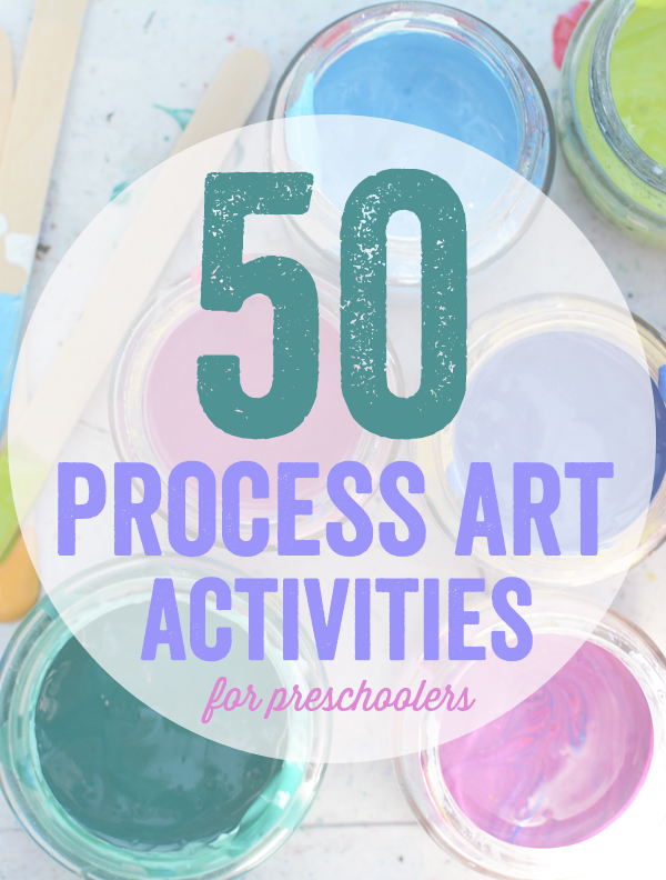 50 Process Art Activities for Kids - Meri Cherry