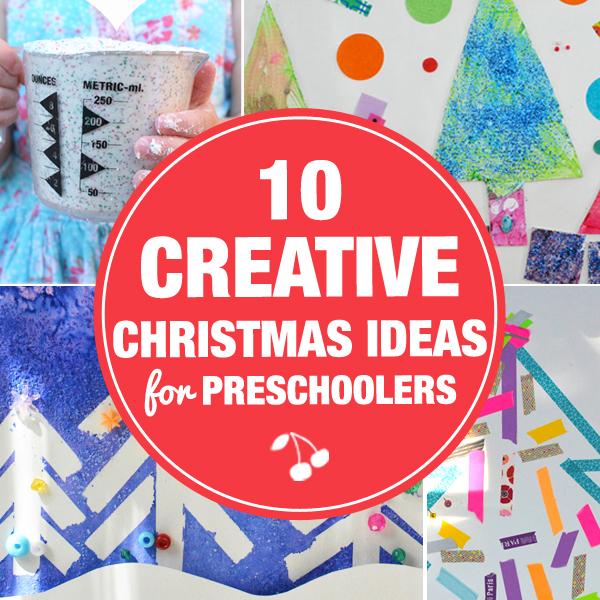 10 Creative Christmas Art Activities For Preschoolers Meri Cherry