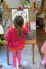 Life in a Reggio Inspired Art Studio