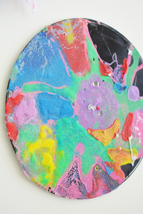 Recycled Records - Process Art For Kids