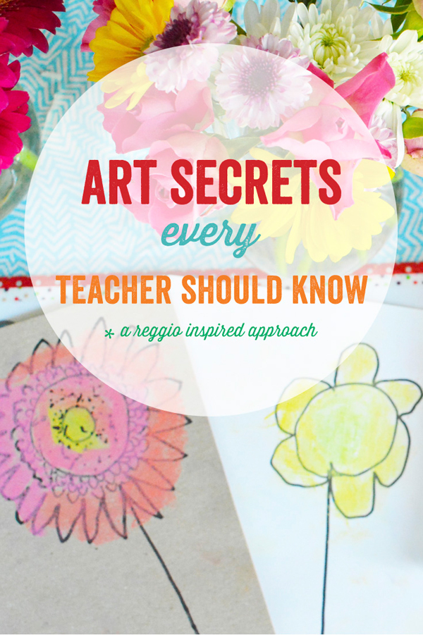 Ebook – Art Secrets Every Teacher Should Know…A Reggio Inspired Approach