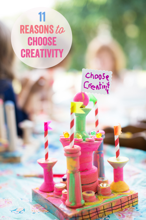 11 Reasons to Choose Creativity