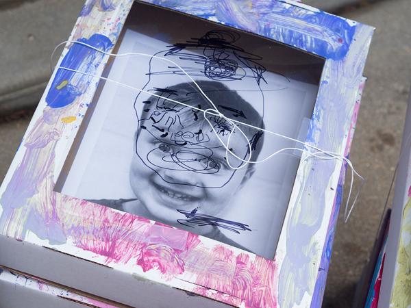 Self portrait Art project for kids
