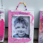 Self portrait Art project for kids