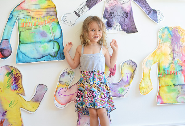 Body Tracings are so personal and so much fun. Such a great process for kids.