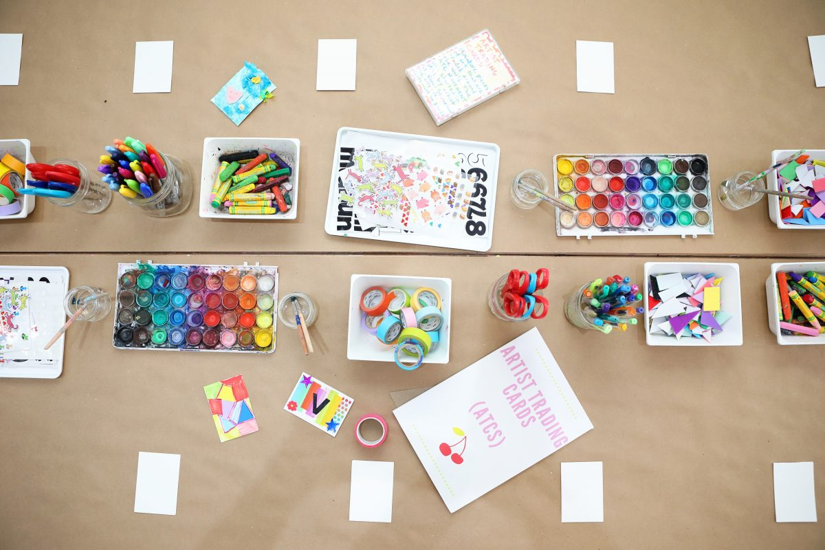 Invitations to Create - Artist Trading Cards