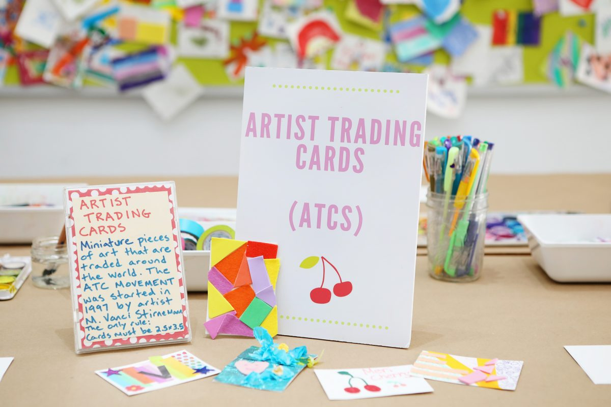Invitation to Create - Artist Trading Cards