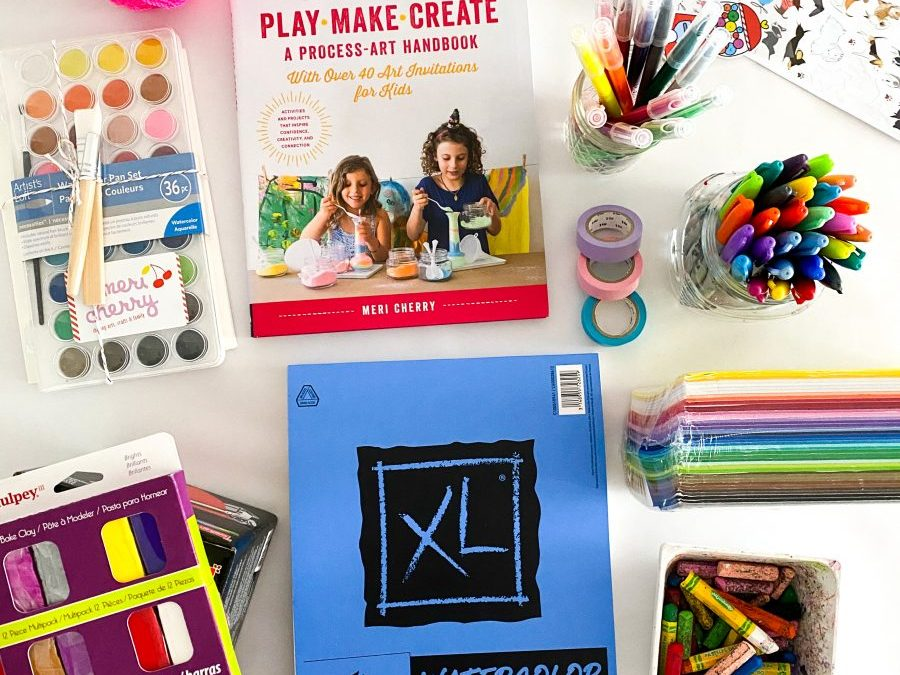 My Go To Art Supply List for Kids